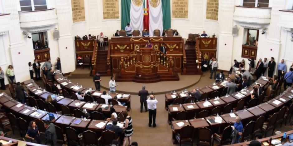 Acuerdan formatos de reuniones virtuales en Congreso de CDMX
