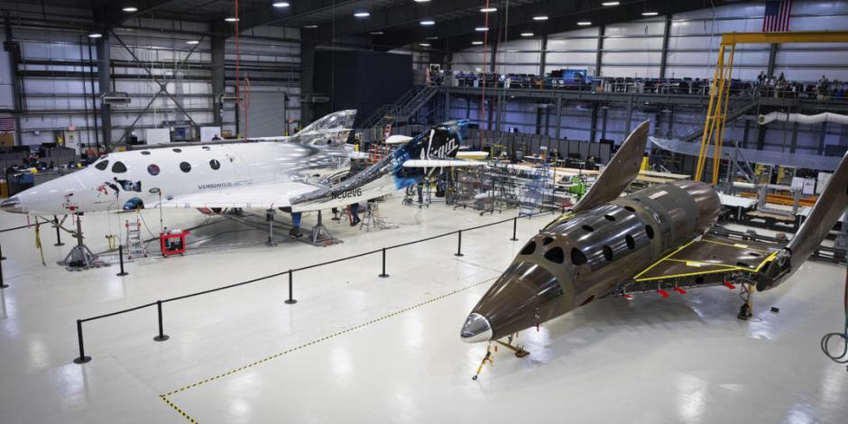 Virgin Galactic avanza en construcción de nave espacial