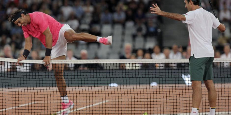 Federer y Nadal rompen récord de asistencia a un partido de tenis