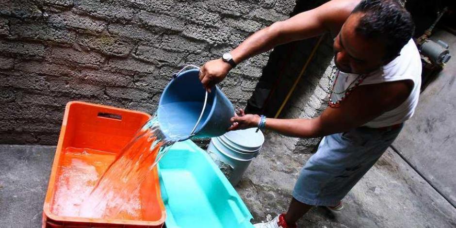 Corte de agua en Iztapalapa afecta 34 colonias, 4 hospitales y 1 reclusorio