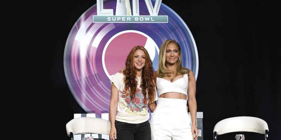 Shakira y JLO quieren honrar el poder latino en el Super Bowl