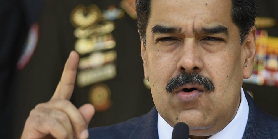 Acusa EU a Nicolás Maduro de narcotráfico y lavado de dinero