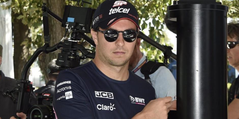 Checo Pérez lamenta tener un monoplaza competitivo y no poder correr