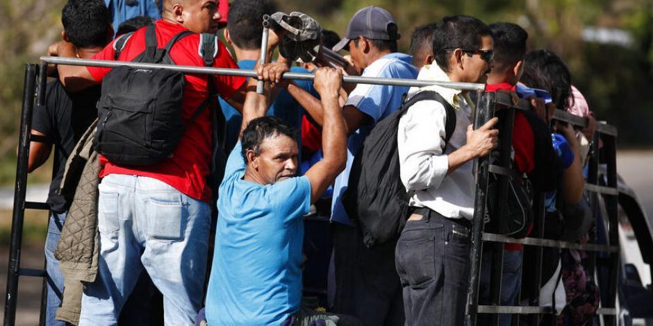 Llega nueva caravana migrante a frontera sur de México