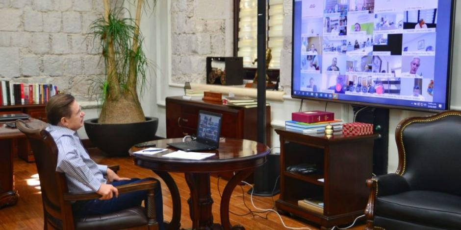 Aispuro y gobernadores coordinan esfuerzos con Federación para reactivar economía