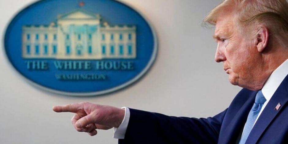 Trump pide estímulos por 800 mil mdd para enfrentar crisis económica por Covid-19