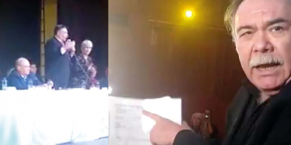 Jesús Ochoa provoca zafarrancho en la Casa del Actor (VIDEO)