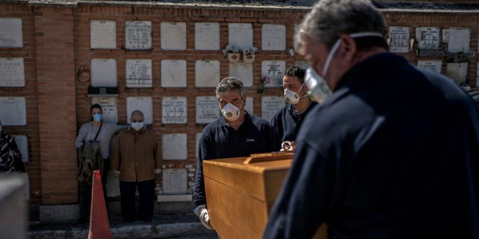 Supera España las 10 mil muertes por COVID-19