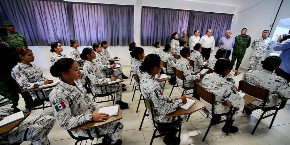 Sedena promete 161 cuarteles para Guardia Nacional este año