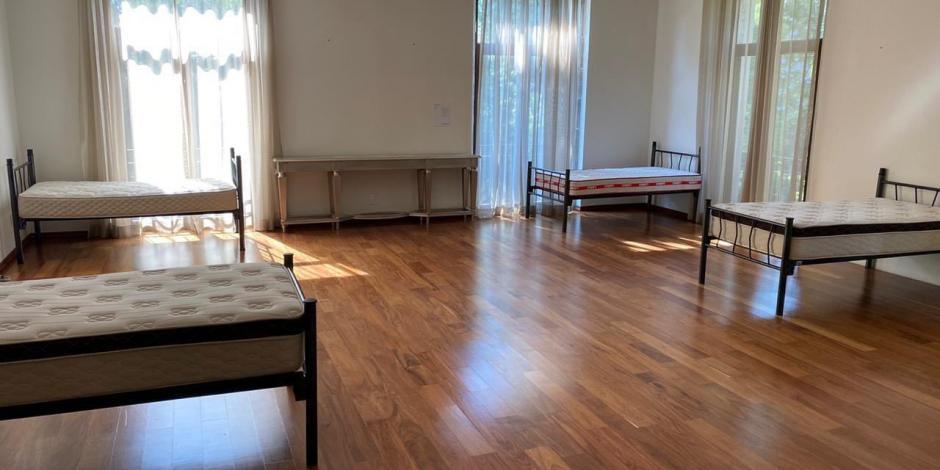 Antes fue habitación de EPN, hoy es dormitorio de cinco enfermeras