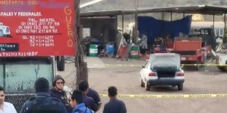 Acribillan a 9 personas en 2 deshuesaderos de Guanajuato