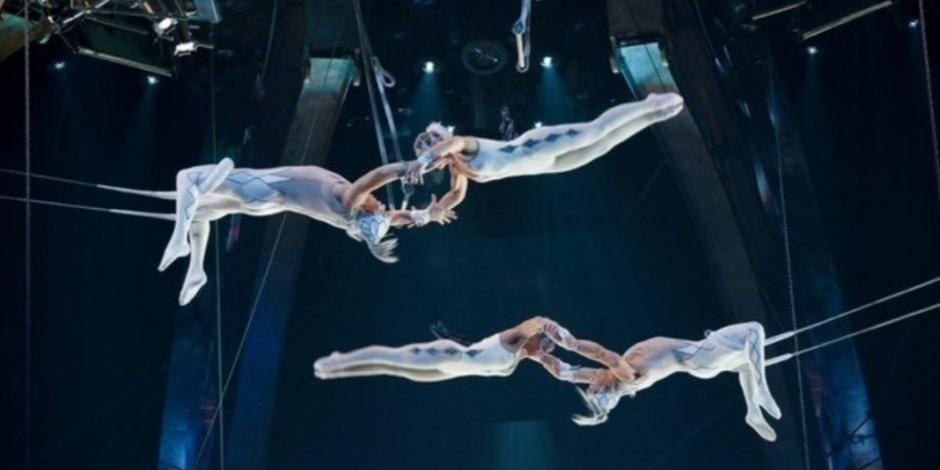 Disfruta la magia del Cirque du Soleil desde casa con funciones en línea