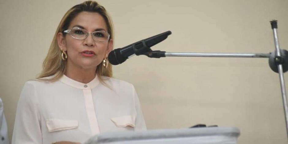 Bolivia quiere amistad y relación de respeto con México y España: Áñez