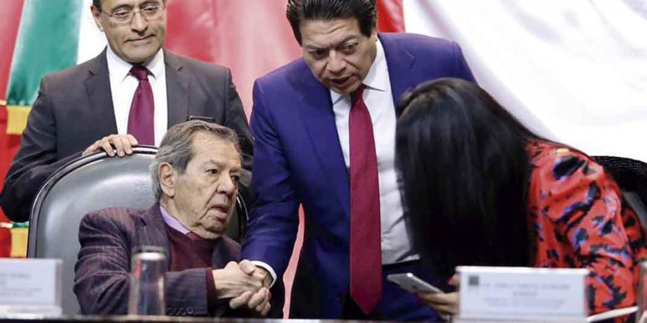 """""""Encuesta, salida a los jaloneos en Morena"""": Mario Delgado"""