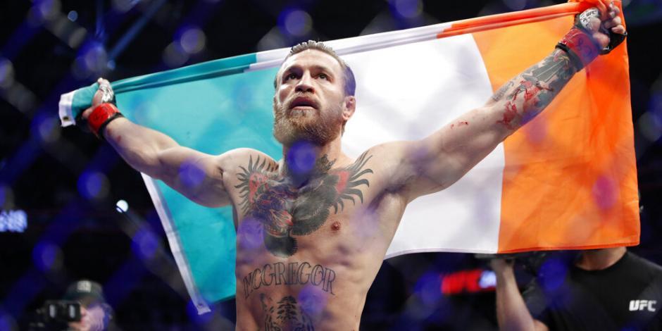 En 40 segundos, Conor McGregor tumba a Cerrone en su regreso a UFC (VIDEO)