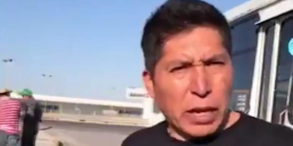 Activista poblano Miguel López, libre; pero sigue proceso