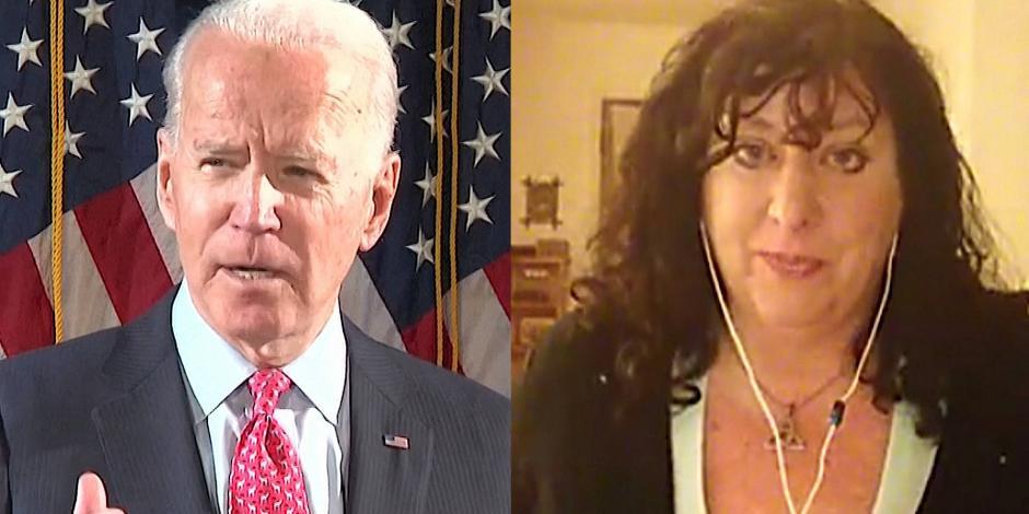 Mujer que acusa a Biden de agresión sexual le pide abandonar carrera presidencial