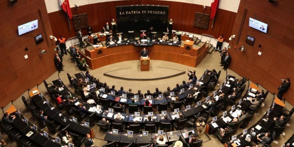 Senado analiza suspender sesiones ordinarias por coronavirus