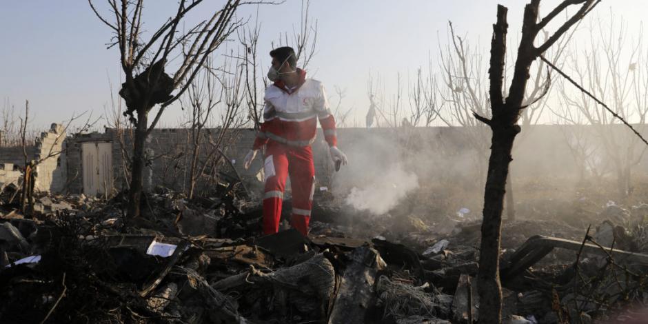 Irán niega haber derribado avión ucraniano y acusa guerra psicológica