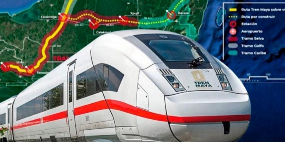 Sale licitación esta semana de 65% de la ruta del Tren Maya