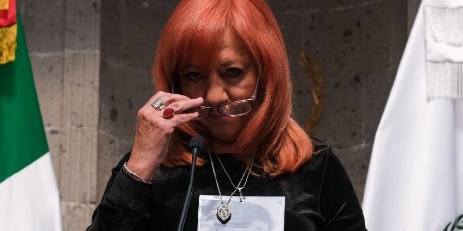 Desmiente CNDH que Rosario Piedra gane más que AMLO