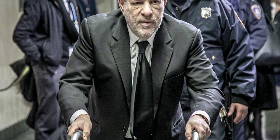 Listo, jurado que define el futuro de Weinstein
