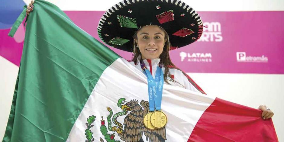 Verano bañado en dorado para la delegación mexicana