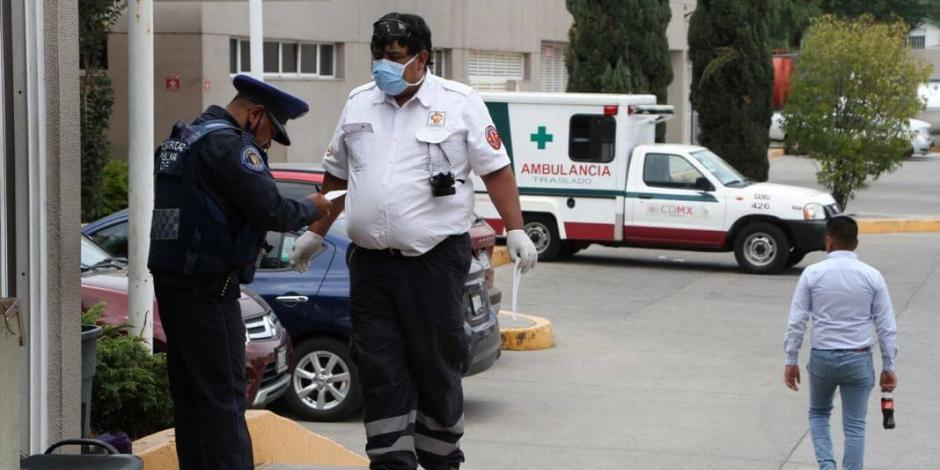 Despliegan 1,290 policías para resguardar hospitales