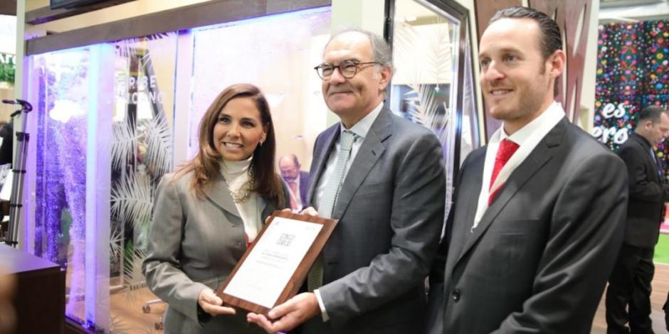 Alcaldesa de Benito Juárez, Q. Roo, concluye exitosa gira de trabajo en Feria de Turismo