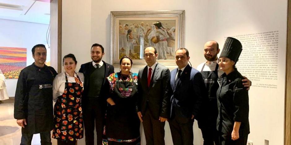 Guerrero realiza muestra gastronómica en la Casa de México en España