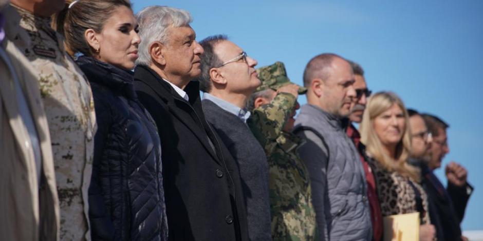 Anuncia AMLO monumento a víctimas de masacre en Bavispe
