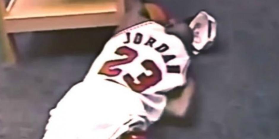 Así fue el llanto de Michael Jordan que no salió en The Last Dance (VIDEO)