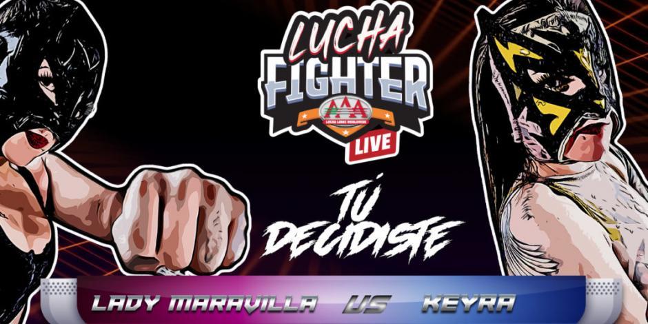 Conoce todos los detalles de Lucha Fighter AAA LIVE (VIDEO)