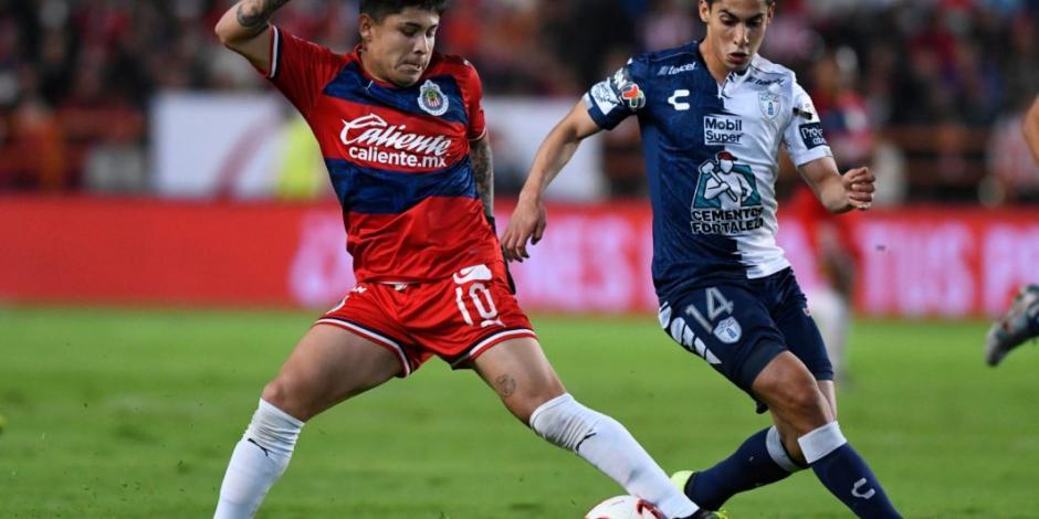 Chivas empata sin anotaciones en su visita a Pachuca