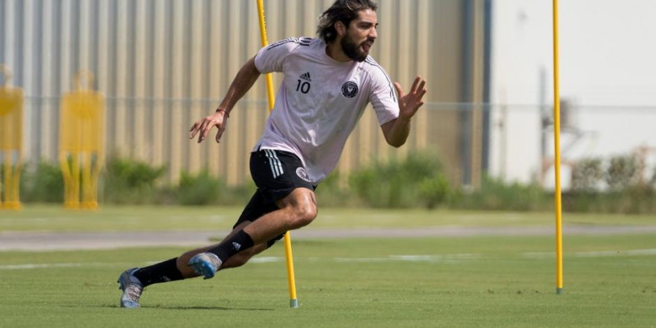 Rodolfo Pizarro y el Inter de Miami regresan a entrenar (VIDEO)