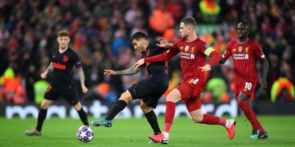 Piden investigar juego entre Liverpool y Atlético de Madrid por COVID-19