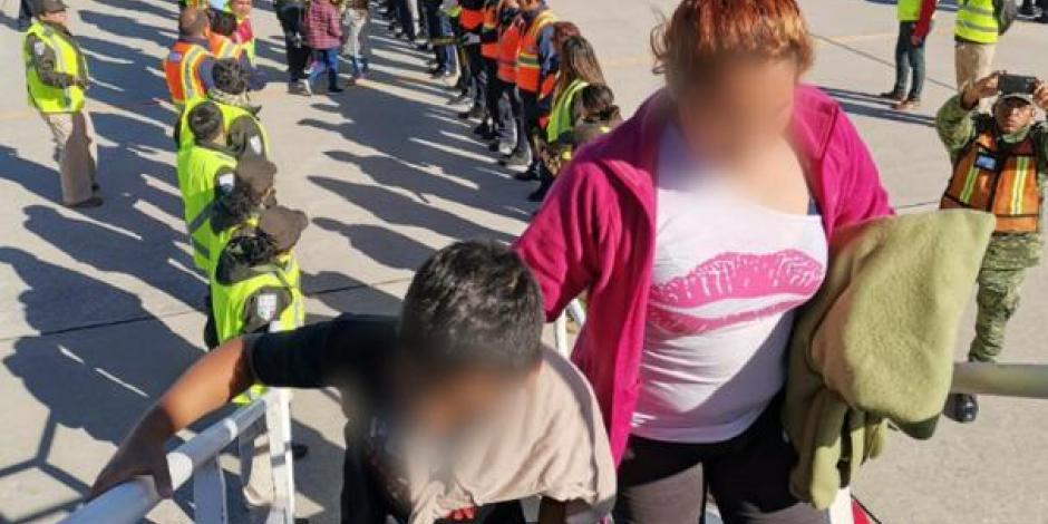Deporta el Instituto Nacional de Migración a 240 hondureños