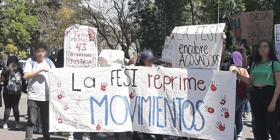 UNAM recibe nuevo pliego petitorio por violencia de género