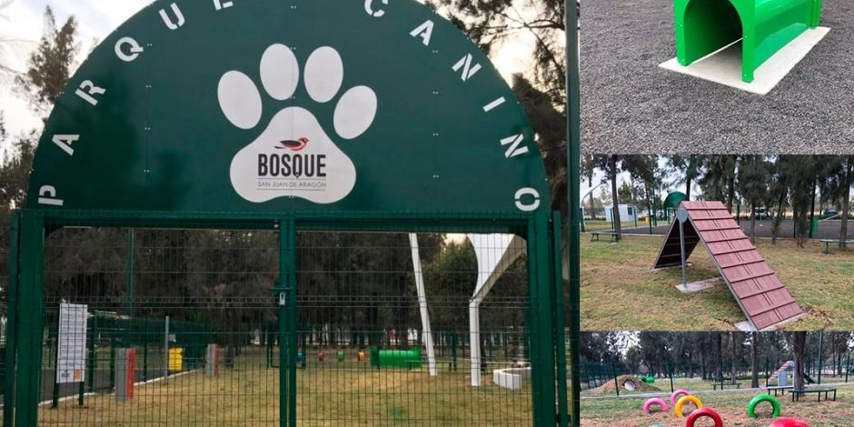 Consiente a tu perro en este nuevo parque para lomitos en Aragón-CDMX