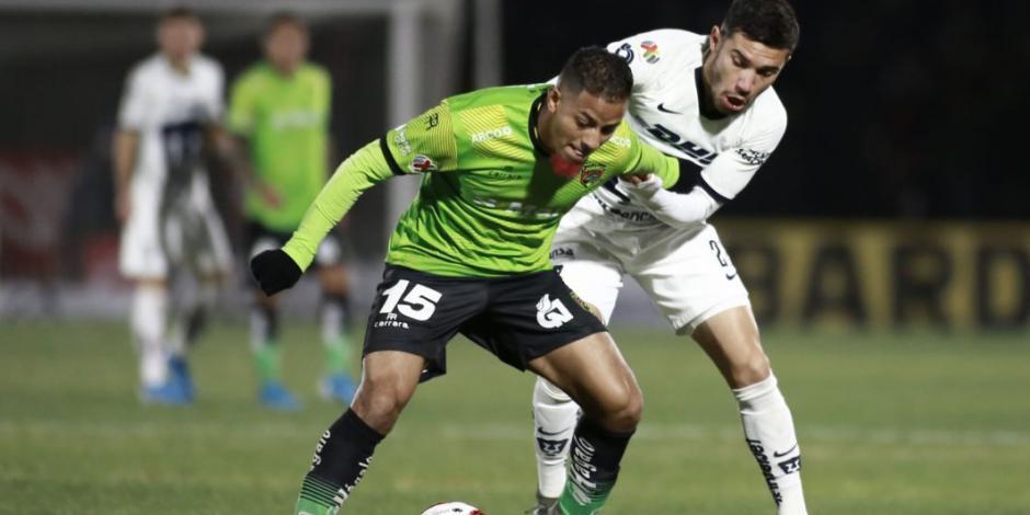 Bravos y Pumas brindan feria de goles en Ciudad Juárez
