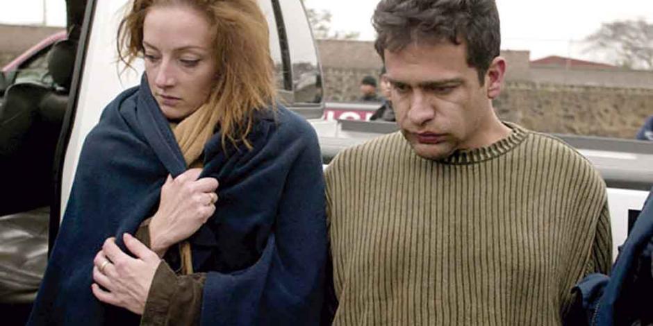 Israel Vallarta supera el COVID-19 y regresa a prisión; era pareja de Florence Cassez