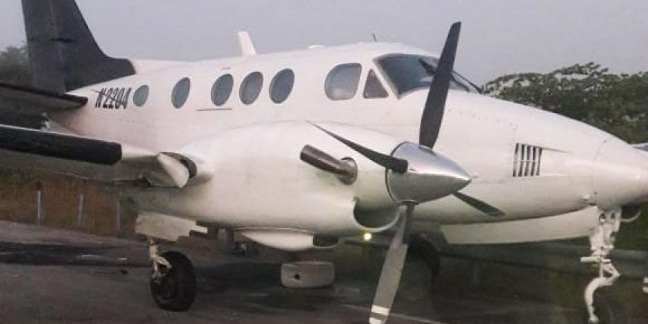 Estas son las rutas de la narco-avioneta asegurada en Bacalar