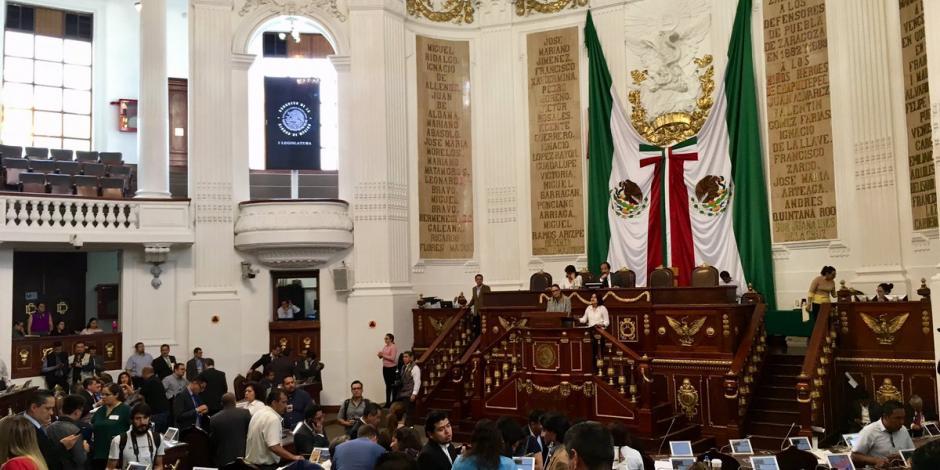 Avanza dictamen anticorrupción en el Congreso capitalino