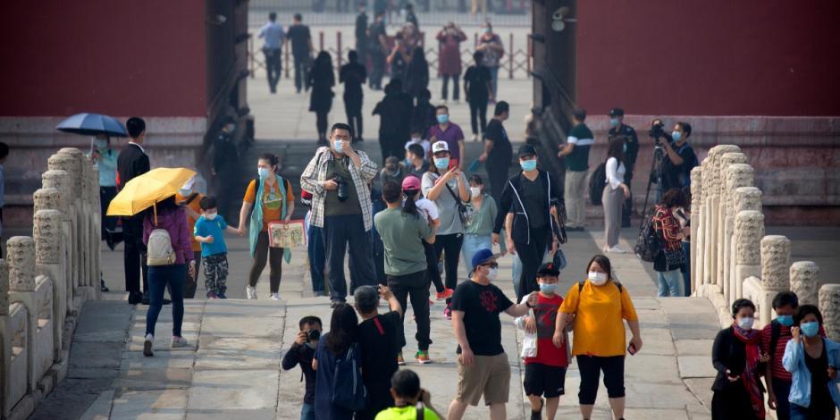 Reabre China parques y museos tras meses cerrados por pandemia