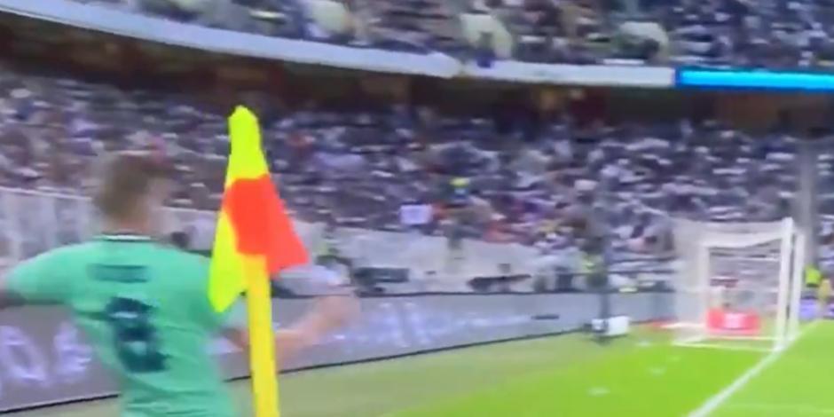 Así fue el gol olímpico de Toni Kroos en la Supercopa de España (VIDEO)
