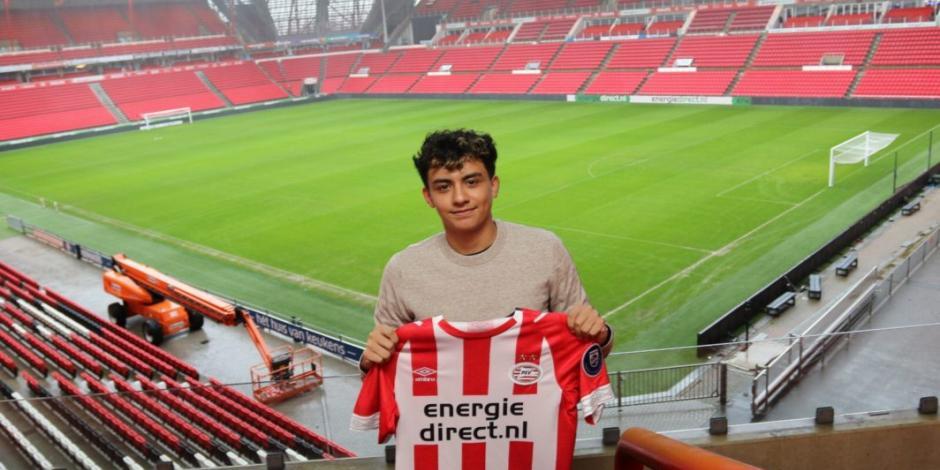Mexicoamericano entrena con Erick Gutiérrez en el PSV Eindhoven