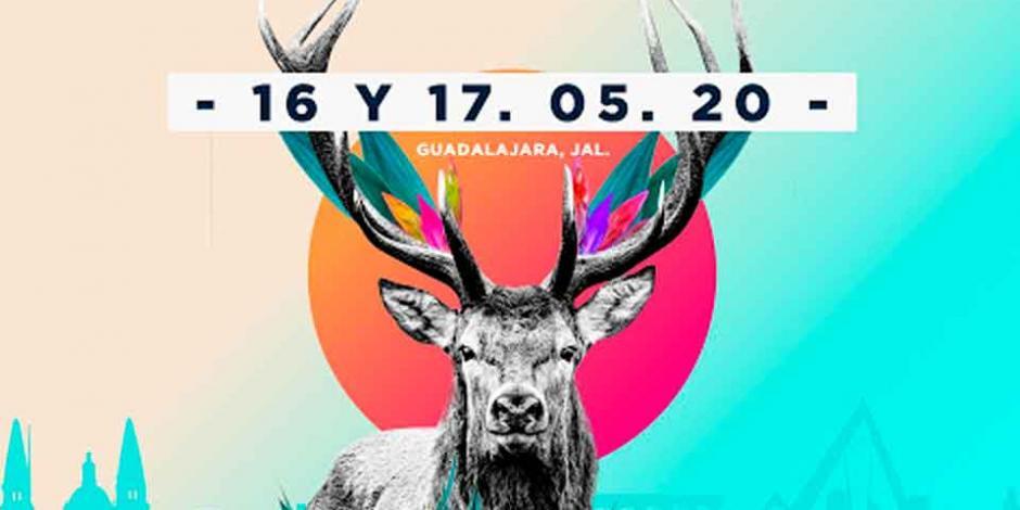 Este es el cartel oficial del Corona Capital Guadalajara
