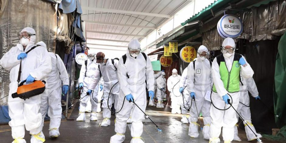OMS no recomienda desinfectar espacios públicos para eliminar COVID-19