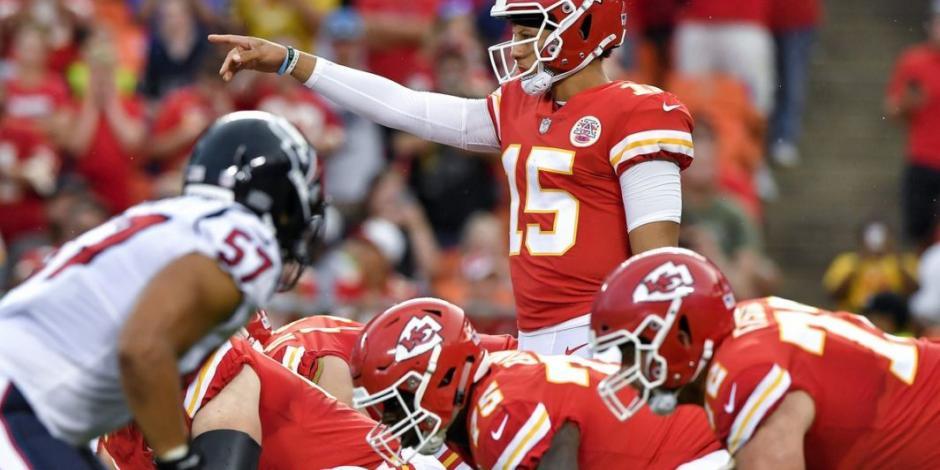 Chiefs y Texans darán inicio a la próxima temporada de la NFL