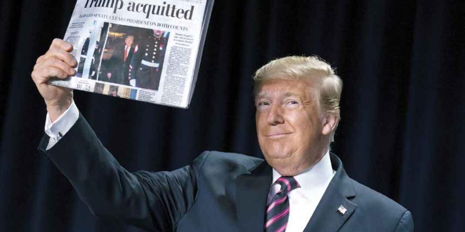 Trump desata ajuste de cuentas